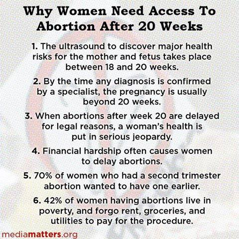 Reasons against abortion