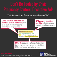 Be Careful When it Comes to Lying Crisis Pregnancy Centers....