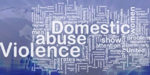 Domestic violence concept diagram