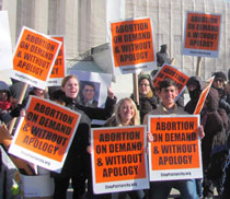 abortion on demand without apology